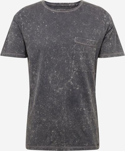 SHINE ORIGINAL Shirt 'Distressed' in schwarz, Produktansicht