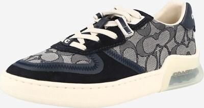 COACH Sneaker in creme / navy / grau, Produktansicht