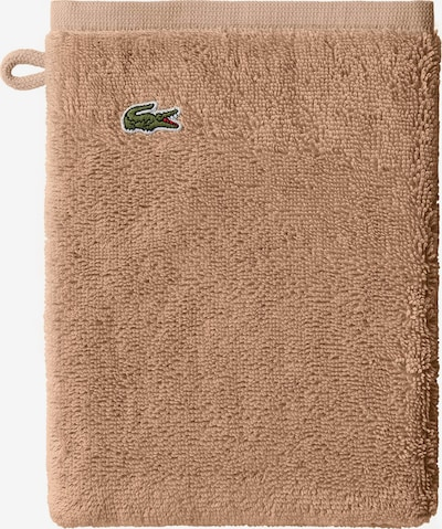 LACOSTE Washcloth 'LE CROCO' in Beige, Item view