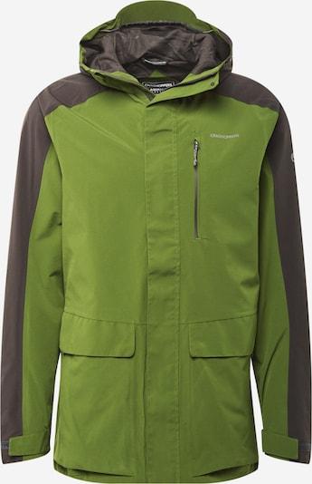 Geacă outdoor 'Lorton' CRAGHOPPERS pe gri închis / verde măr / alb, Vizualizare produs
