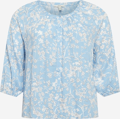 Esprit Curves Blouse in Night blue / Light blue / White, Item view
