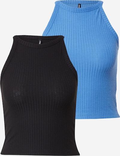 kék / fekete ONLY Top 'NELLA': Elölnézet