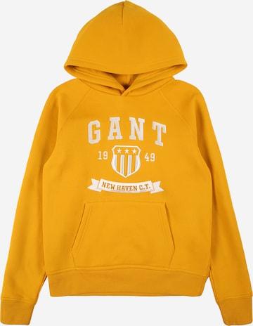 GANTSweater majica - žuta boja