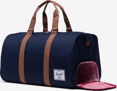 Herschel Bolsa de viaje 'Novel' en navy / marrón, Vista del producto
