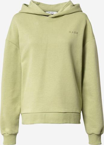 NA-KD Dressipluus, värv roheline