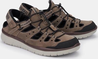 Allrounder Sneaker Maroon in braun, Produktansicht