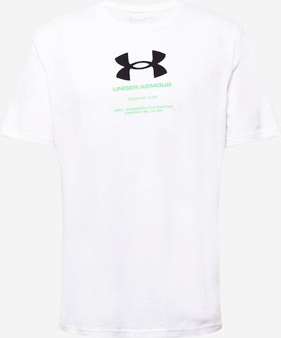 UNDER ARMOUR T-Shirt in neongrün / schwarz / weiß, Produktansicht