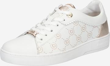 Sneaker low de la bugatti pe alb