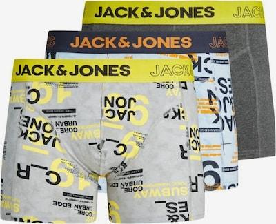 Jack & Jones Junior Onderbroek in de kleur Navy / Lichtblauw / Geel / Grijs / Zwart, Productweergave