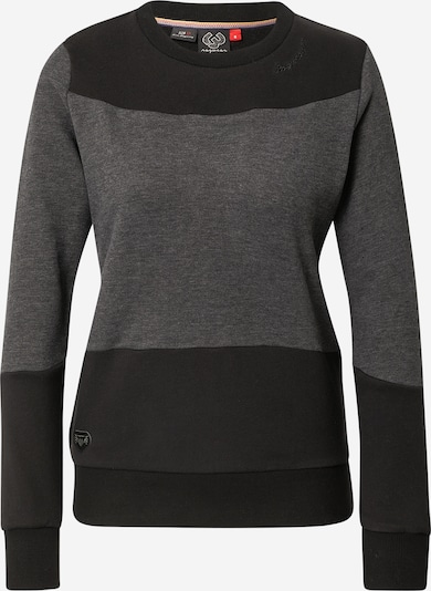 Ragwear Sweatshirt 'AMIRAH' in Black / mottled black, Item view