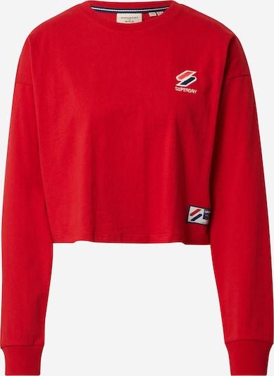Superdry T-Krekls 'Sportstyle Essential' zils / sarkans / balts, Preces skats