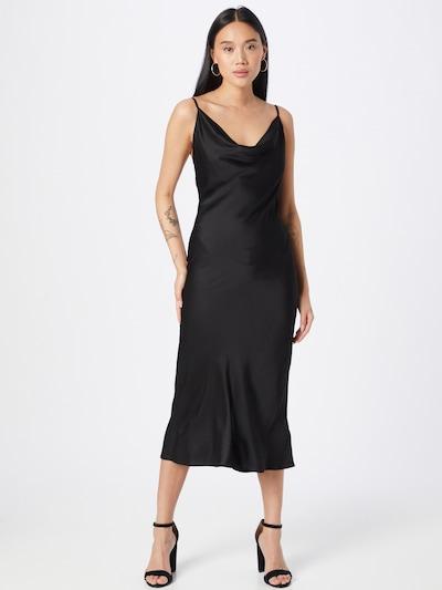 Grace & Mila Kleid 'DRAPER' in schwarz, Modelansicht