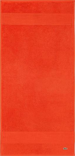 LACOSTE Handtuch 'LE CROCO' in orange, Produktansicht