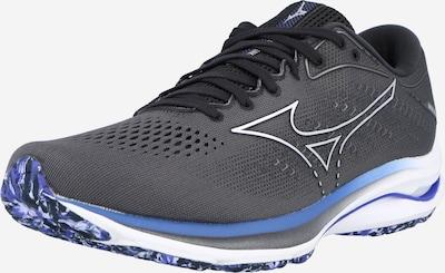MIZUNO Sportschuh 'WAVE RIDER 25' in blau / dunkelgrau / weiß, Produktansicht