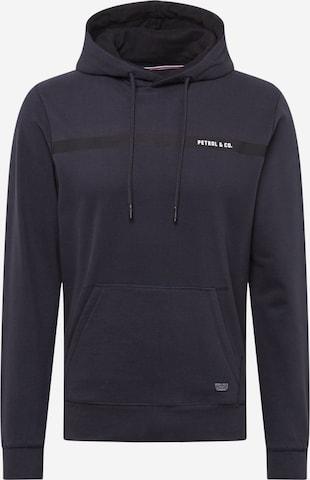 Petrol Industries Sweatshirt i blå