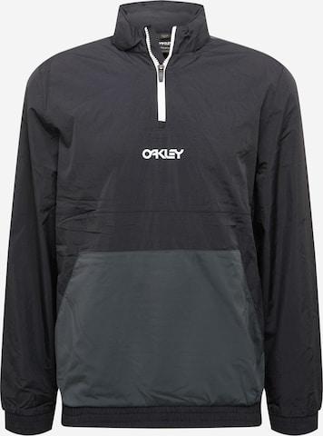 OAKLEY Sportsjakke i svart