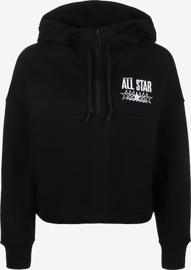 CONVERSE Hoodie 'All Star' in schwarz, Produktansicht
