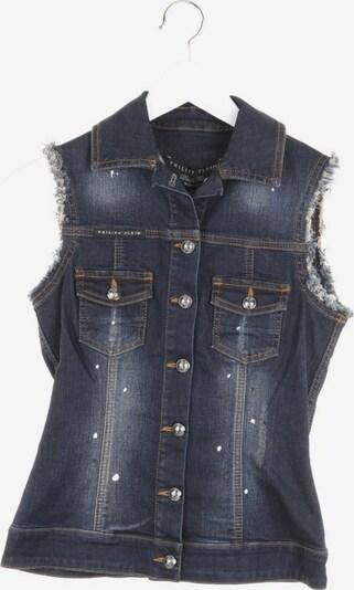 Philipp Plein Jeansweste in XS in blau, Produktansicht