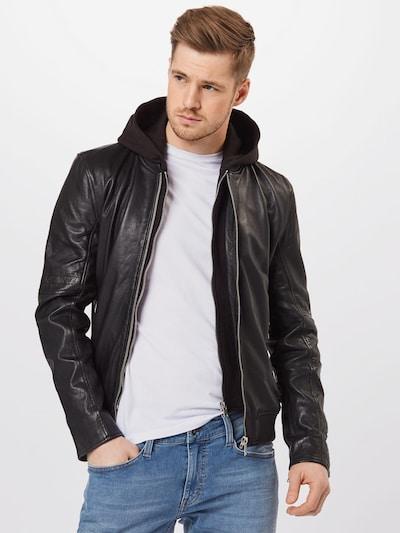 Gipsy Prehodna jakna 'Nate' | črna barva: Frontalni pogled