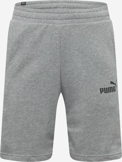 PUMA Pantalon de sport en gris chiné / noir / blanc, Vue avec produit