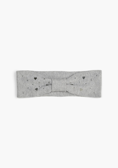 s.Oliver Stirnband in grau / hellgrau, Produktansicht