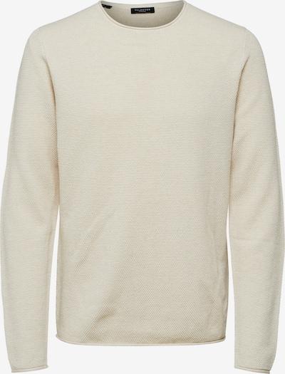 Pullover 'SLHROCKY' SELECTED HOMME di colore beige chiaro, Visualizzazione prodotti
