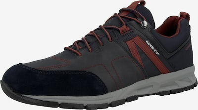 GEOX Sneakers 'Delray' in Navy / Night blue / Dusty blue / Pastel red / White, Item view