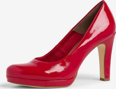 TAMARIS Escarpins en rouge, Vue avec produit