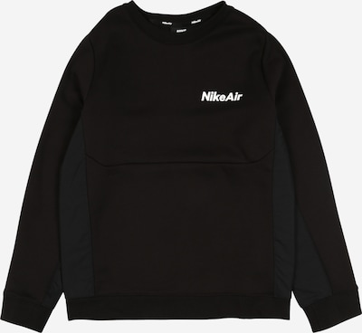 Nike Sportswear Sweatshirt in anthrazit / schwarz / weiß, Produktansicht