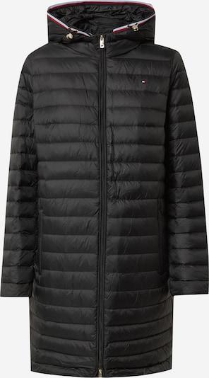 TOMMY HILFIGER Mantel 'Bella' in dunkelblau / rot / schwarz / weiß, Produktansicht