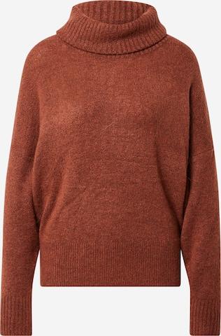 ICHI Sweter 'Kamara' w kolorze brązowy