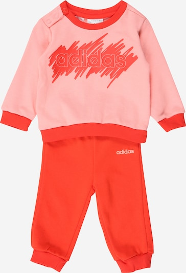 ADIDAS PERFORMANCE Tracksuit in Light pink / Melon / White, Item view