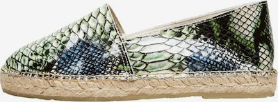 SELECTED FEMME Espadrilles en bleu / vert, Vue avec produit