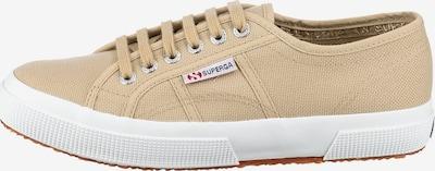 SUPERGA Sneaker in beige / weiß, Produktansicht