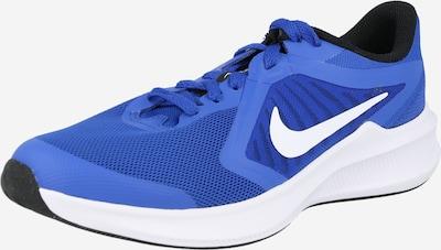 NIKE Urheilukengät 'Downshifter 10' värissä kuninkaallisen sininen / valkoinen, Tuotenäkymä