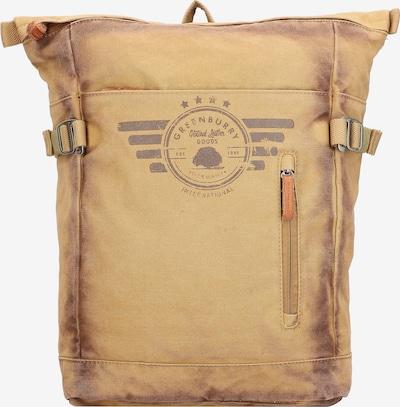 GREENBURRY Aviator Rucksack 41 cm Laptopfach in beige, Produktansicht