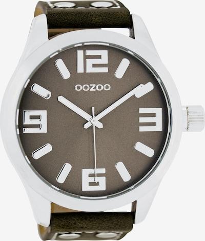OOZOO Uhr in taupe / hellgrau, Produktansicht
