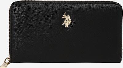 U.S. POLO ASSN. Peňaženka 'Jones' - čierna / strieborná, Produkt