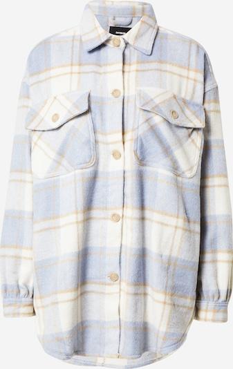 Cotton On Jacke in hellbeige / rauchblau / weiß, Produktansicht
