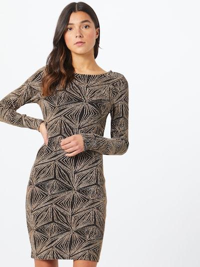 ONLY Kleit Kuld / must, Modellivaade