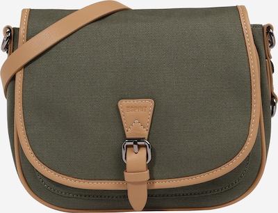 ESPRIT Tasche 'Susie' in hellbraun / oliv, Produktansicht