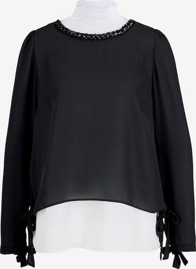 heine Bluse in schwarz / weiß, Produktansicht