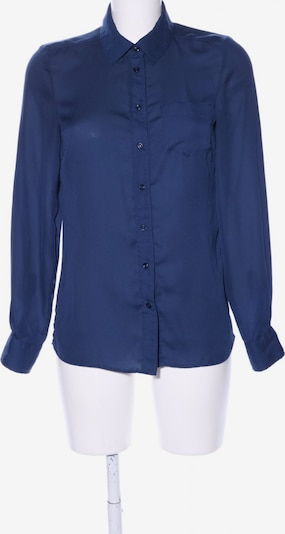 Blend She Langarm-Bluse in XS in blau: Frontalansicht