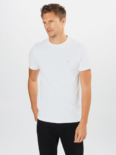 FARAH Shirt 'Danny' in de kleur Wit, Modelweergave