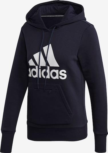 ADIDAS PERFORMANCE Sportsweatshirt in dunkelblau / weiß, Produktansicht