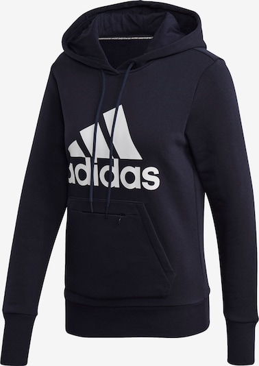 ADIDAS PERFORMANCE Sportsweatshirt i mørkeblå / hvid, Produktvisning