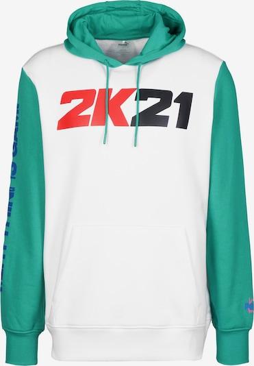 PUMA Sweatshirt '2K' in mischfarben / weiß, Produktansicht