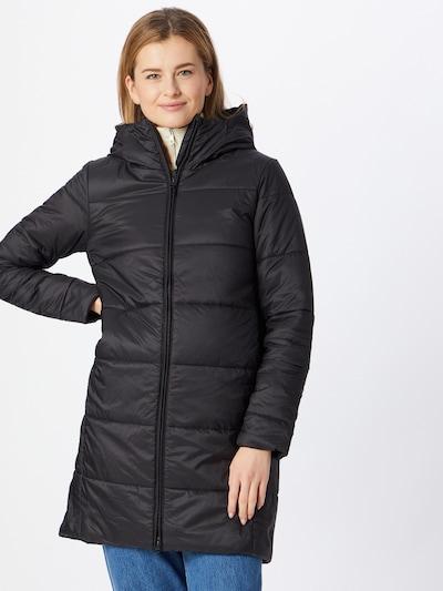 Laisvalaikio paltas iš ICEBREAKER, spalva – juoda, Modelio vaizdas