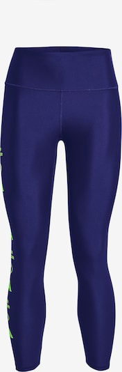 UNDER ARMOUR Sportbroek in de kleur Indigo / Groen: Vooraanzicht