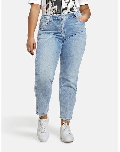 SAMOON Jeans 'Jenny' in blue denim, Modelansicht